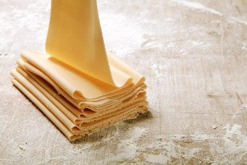 Pasta sfoglia fatta in casa