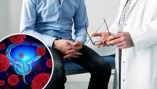 Primi sintomi del cancro prostatico