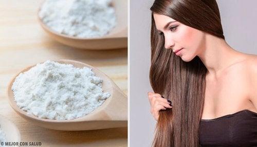 Bicarbonato di sodio per i capelli: benefici e applicazioni