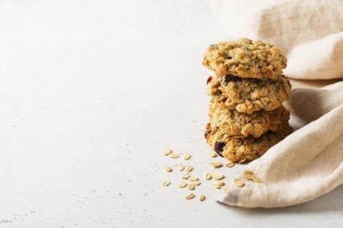 Biscotti di avena senza zucchero né burro