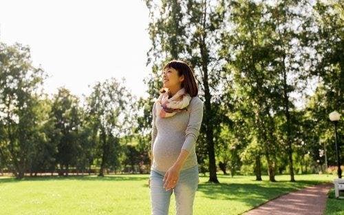 Camminare in gravidanza