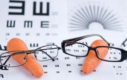 Carote per migliorare la vista