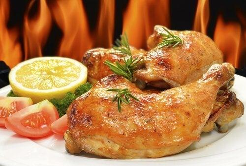 Cosci di pollo al forno