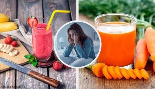 5 succhi contro l'insonnia naturali ed efficaci