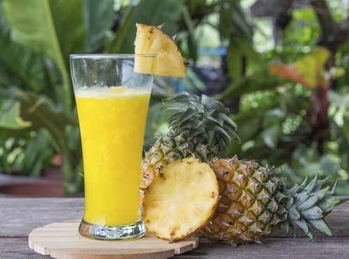 Succo contro l'insonnia all'ananas