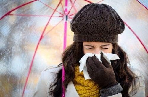 Evitare di prendere il raffreddore invernale: ecco come