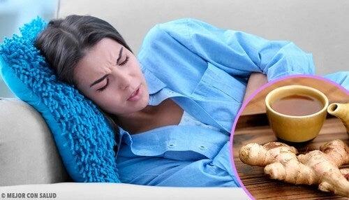 Ridurre il bisogno di vomitare con ingredienti naturali