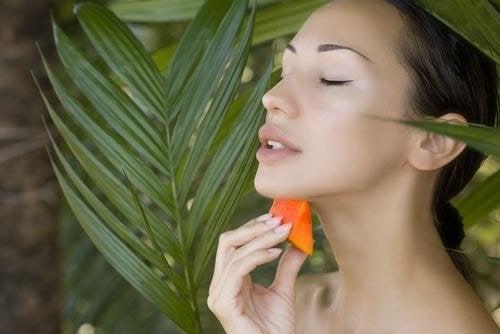 Trattamento alla papaya