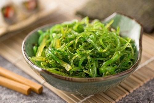 Alghe tra 7 alimenti ricchi di iodio
