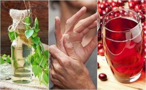 Eccesso di acido urico e rimedi naturali
