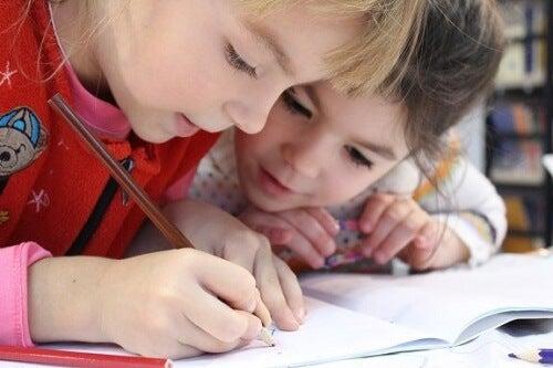 Esercizi di ortografia per i bambini