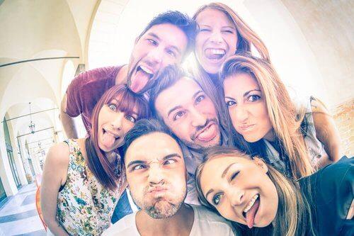 Foto amici i benefici dell'amicizia