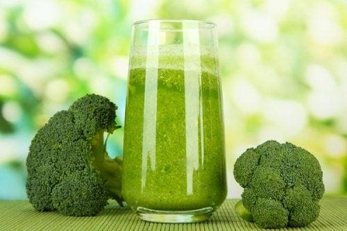 Frullato di broccoli per dimagrire