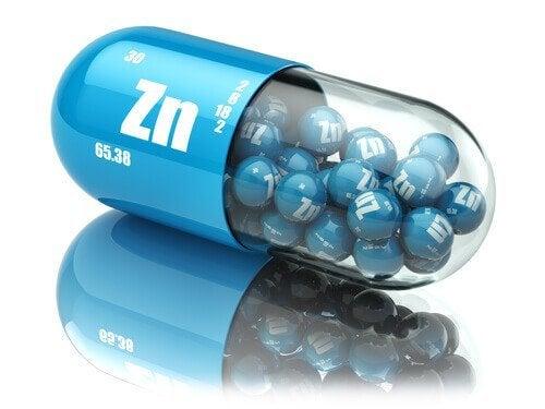 Integratori di zinco