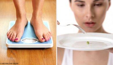 perdere peso improvvisamente a causa di