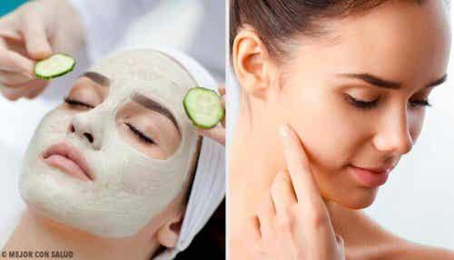 Pulire i pori con una maschera naturale