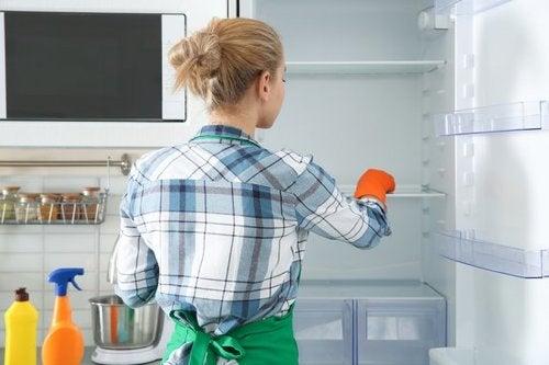 Pulire e disinfettare il frigorifero con prodotti ecologici