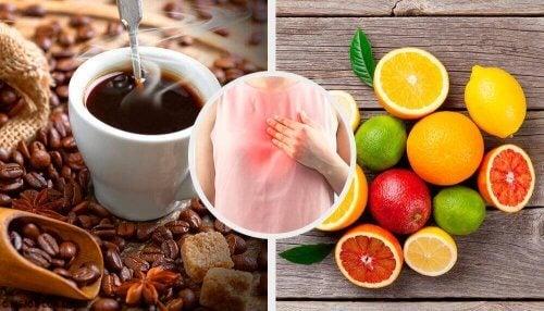 Il reflusso gastrico e gli alimenti da evitare