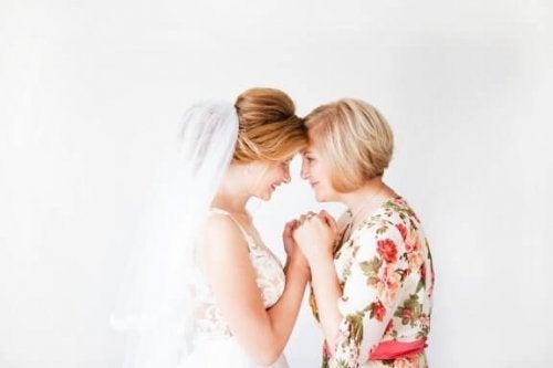 Testimone della sposa e consigli per la scelta dell'abito