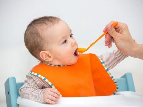 Far mangiare un neonato
