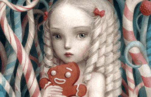 Bambina col suo giocattolo