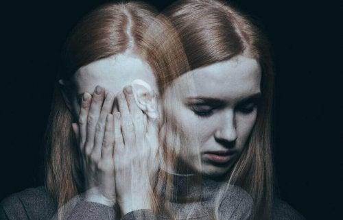 Depressione in donna vittima
