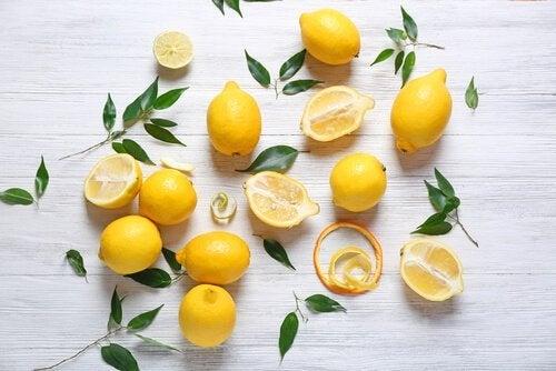 Limoni per il centrotavola