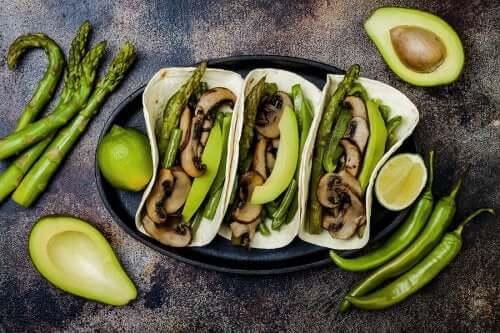 i funghi sono presenti in molte ricette vegane