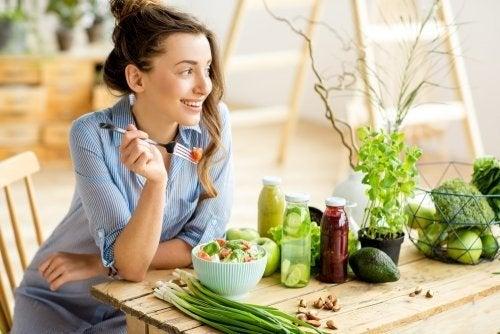 Adottare una dieta vegetariana