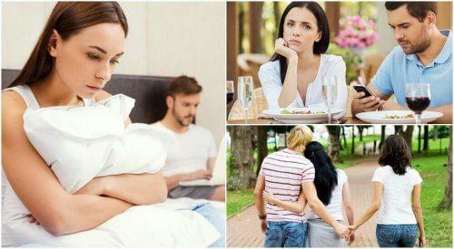 Come scoprire se il partner è infedele