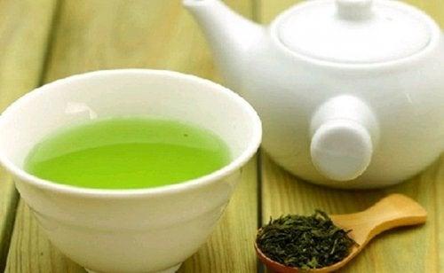 Tutti i composti del tè verde