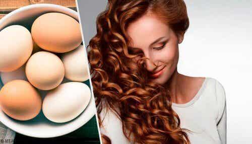 L'uovo per la cura dei capelli: come applicarlo