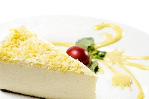Cheesecake allo zenzero