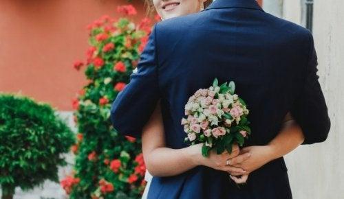 Coppia matrimonio lampo