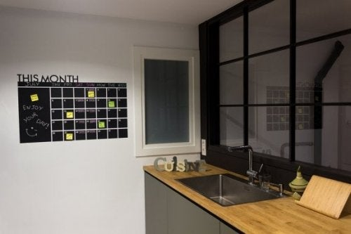 Pannello organizer in cucina