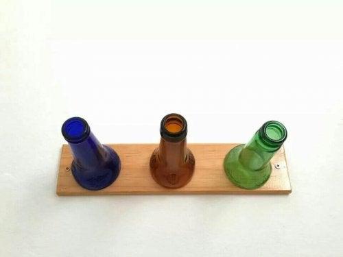 Riciclare le bottiglie