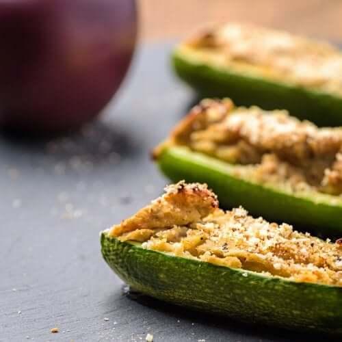 Zucchine ripiene con 3 semplici ricette