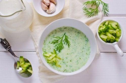 Zuppa di cetriolo