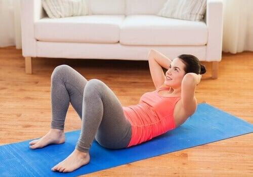 Esercizi per gli addominali zona lombare