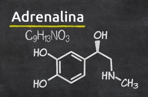 Formula chimica dell'adrenalina