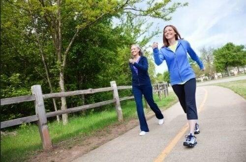 Andare a camminare aumenta la serotonina