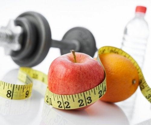 Cibi sani e allenamento dieta per i calcoli biliari