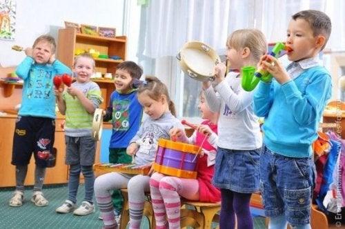 Gioco cooperativo musicale