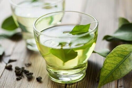 Infuso al tè verde