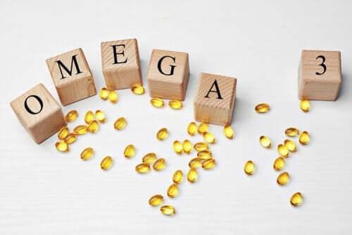 Integratori di acidi grassi omega 3