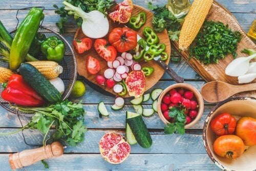 Verdure per la dieta estiva