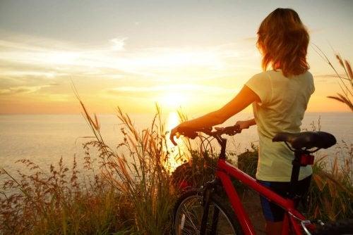 Amare la propria vita significa godere di ogni giorno che passa.