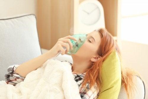 Ossigenoterapia contro l'asma