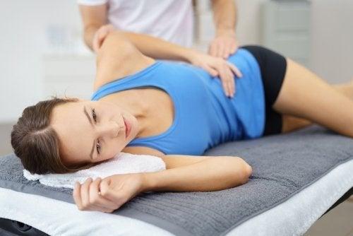 Borsite trocanterica, paziente e fisioterapista