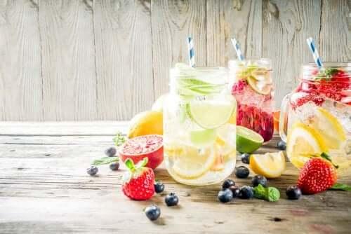 Bere acqua aromatizzata: tutto quello che c'è da sapere